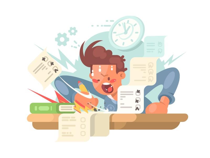 راهکارهای افزایش سرعت حل تمرین و تست چیست؟